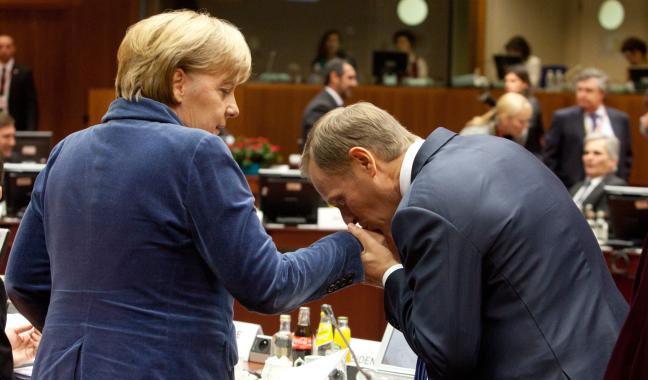 Merkel tusk fot. ec.europa.eu, Credit © European Union